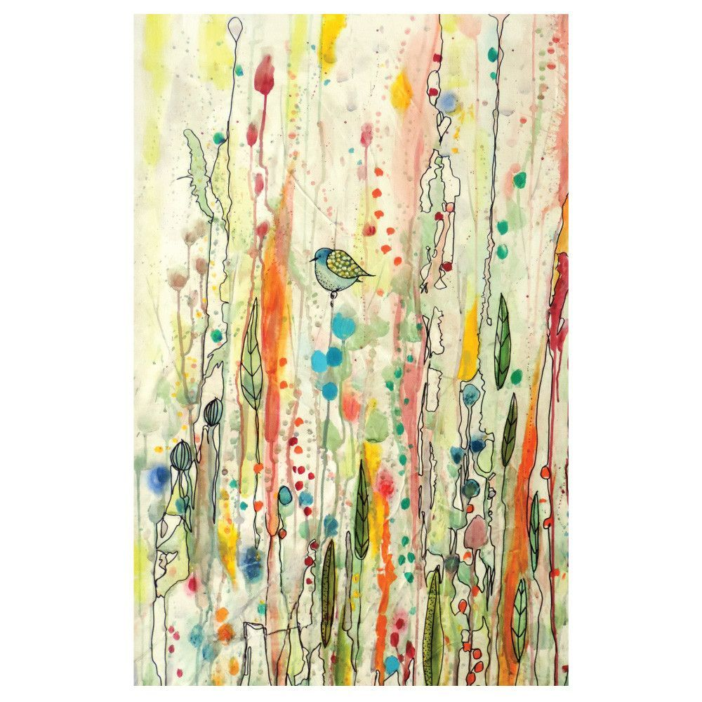 Bird Art Watercolor Painting Decal – Freedom by Sylvie Demers ...