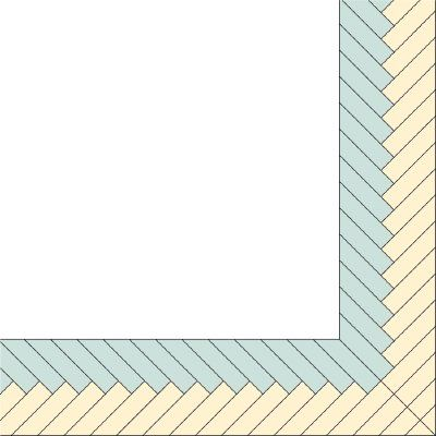 braided quilt border