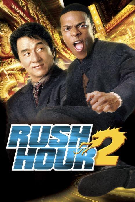 Rush Hour 2 Movie Poster Chris Tucker Jackie Chan Rushhour2