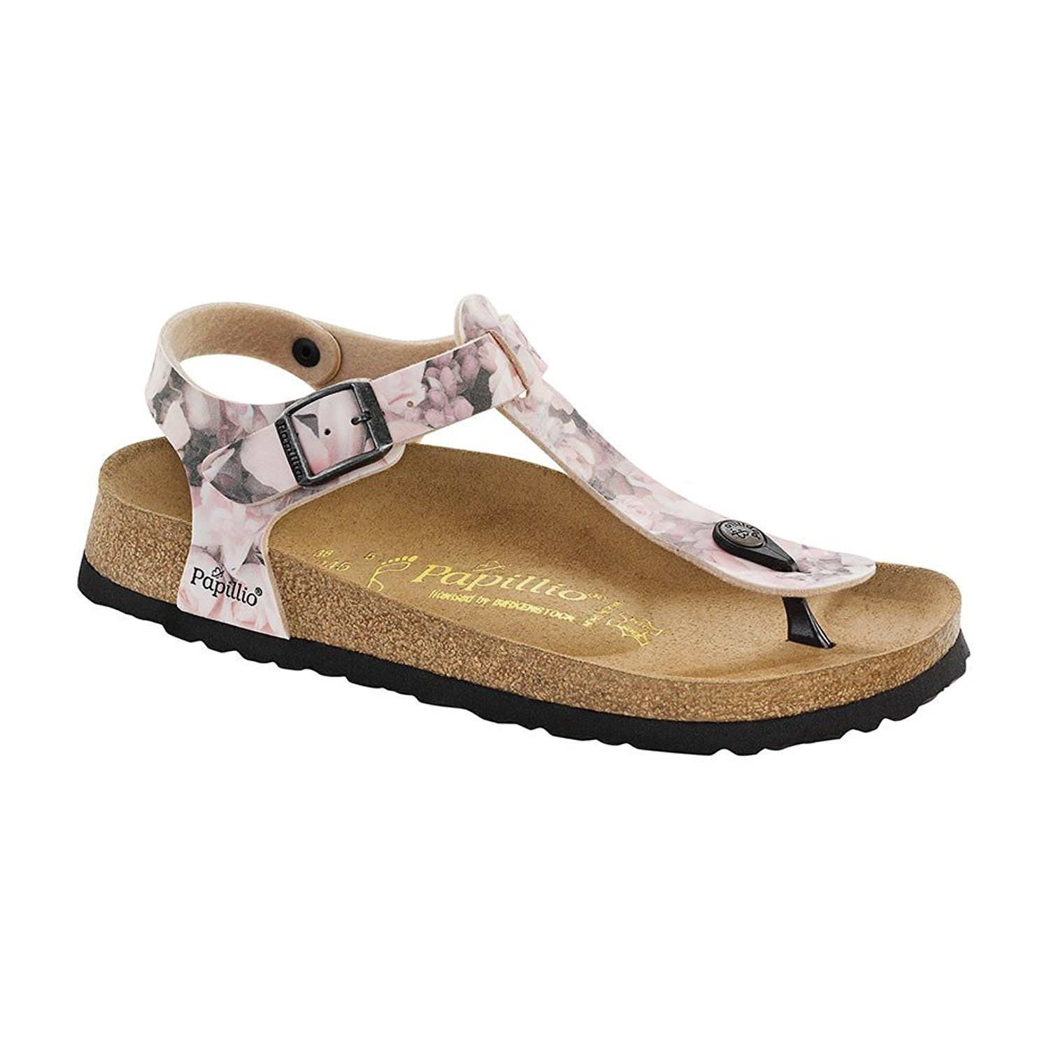 Khaki Birkenstock Kairo Amazon Ladies Mule Slippers | Bus