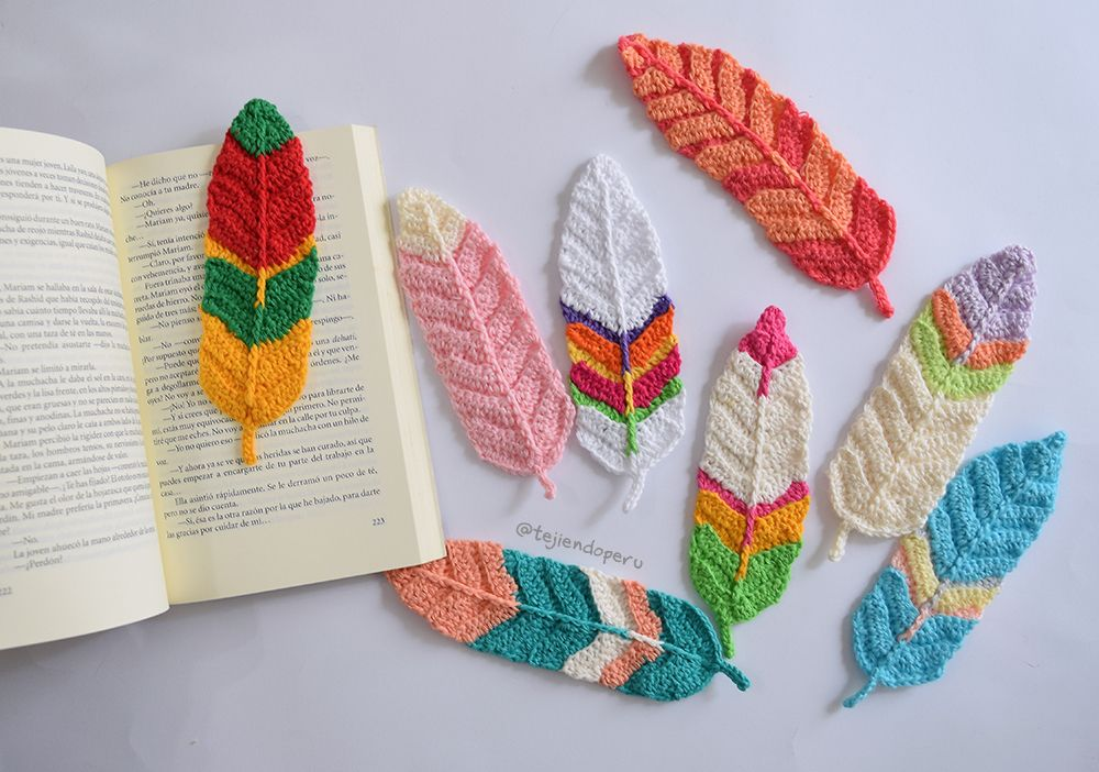 Crochet feathers :) Plumas tejidas a crochet: ¡paso a paso en video ...