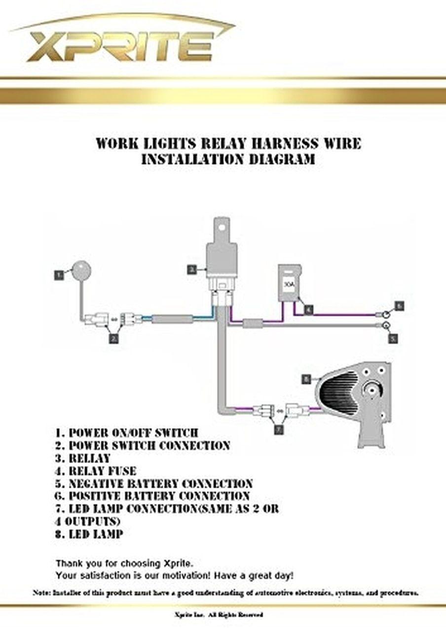 Lamp Wiring Diagram : wiring, diagram, Awesome, Xprite, Chase, Light, Wiring, Diagram, Bars,, Trailer, Wiring,