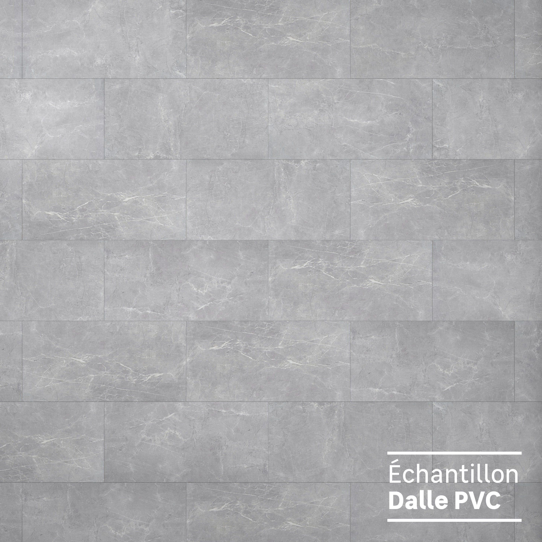 Echantillon Dalle Pvc Clipsable Intenso Artens Knock Marble