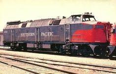 Southern Pacific Kraus Maffei Diesel Hydraulic Locomotive.