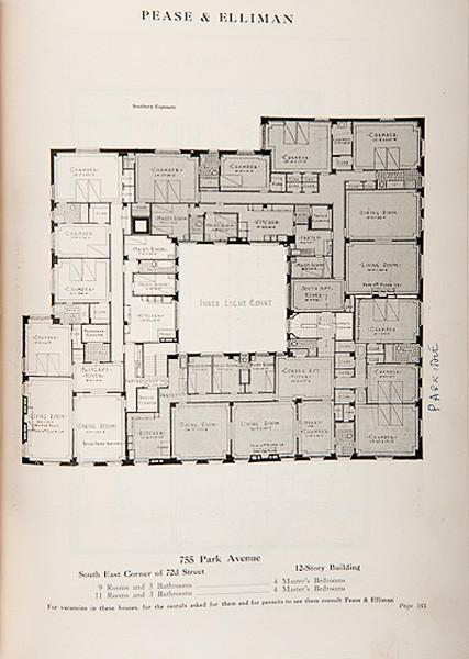 Pease And Elliman S Catalogue Of The East Side Of New York