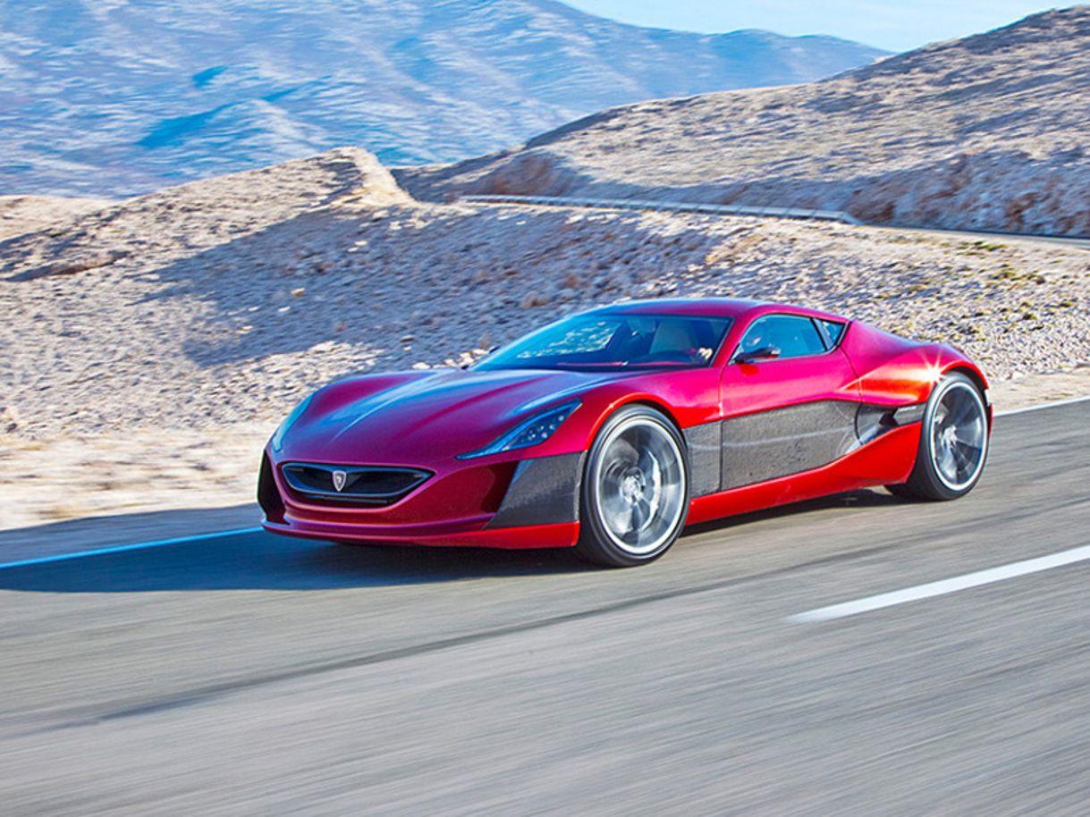 Supercar Electrique Croate Rimac Concept One Super Cars Electric Cars Car