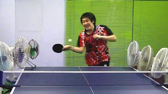 Japanese Ping Pong Player S Trick Shots Are Delightfully Entertaining Ping Pong Trick Shots Best Funny Videos Funny Video Clips