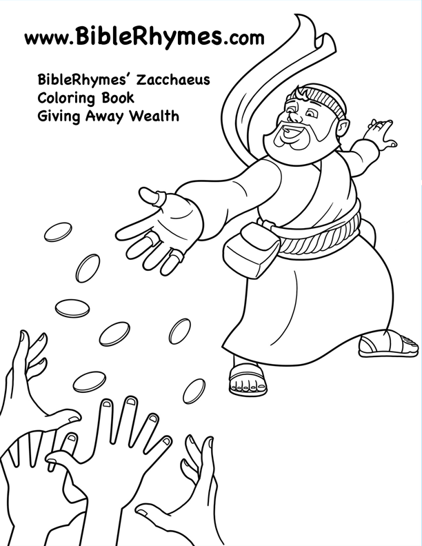 Sharing Money BibleRhymes Zacchaeus