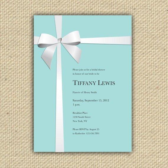 Baby Shower Invitation Tiffany Co Inspired Diy Printable Tiffany Baby Shower Invitations Tiffany Blue Baby Shower Invitations Tiffany Baby Showers