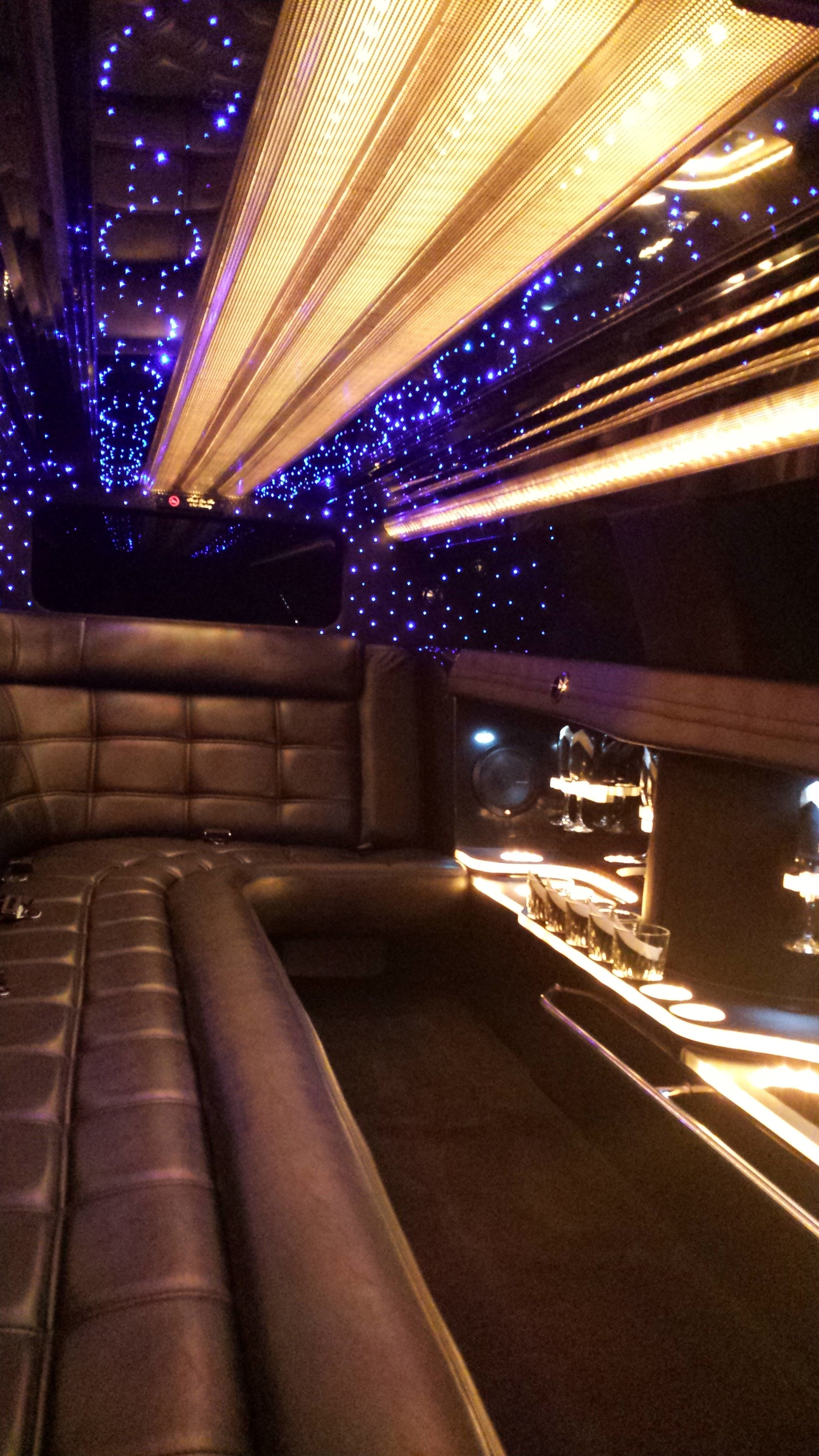 Check Out The Inside Of Our Brand New Chrysler 300 Limousine