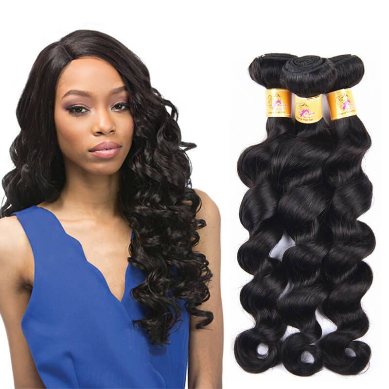 Pin By Marchqueen On Deep Loose Wave Human Hair Weaves Affordable