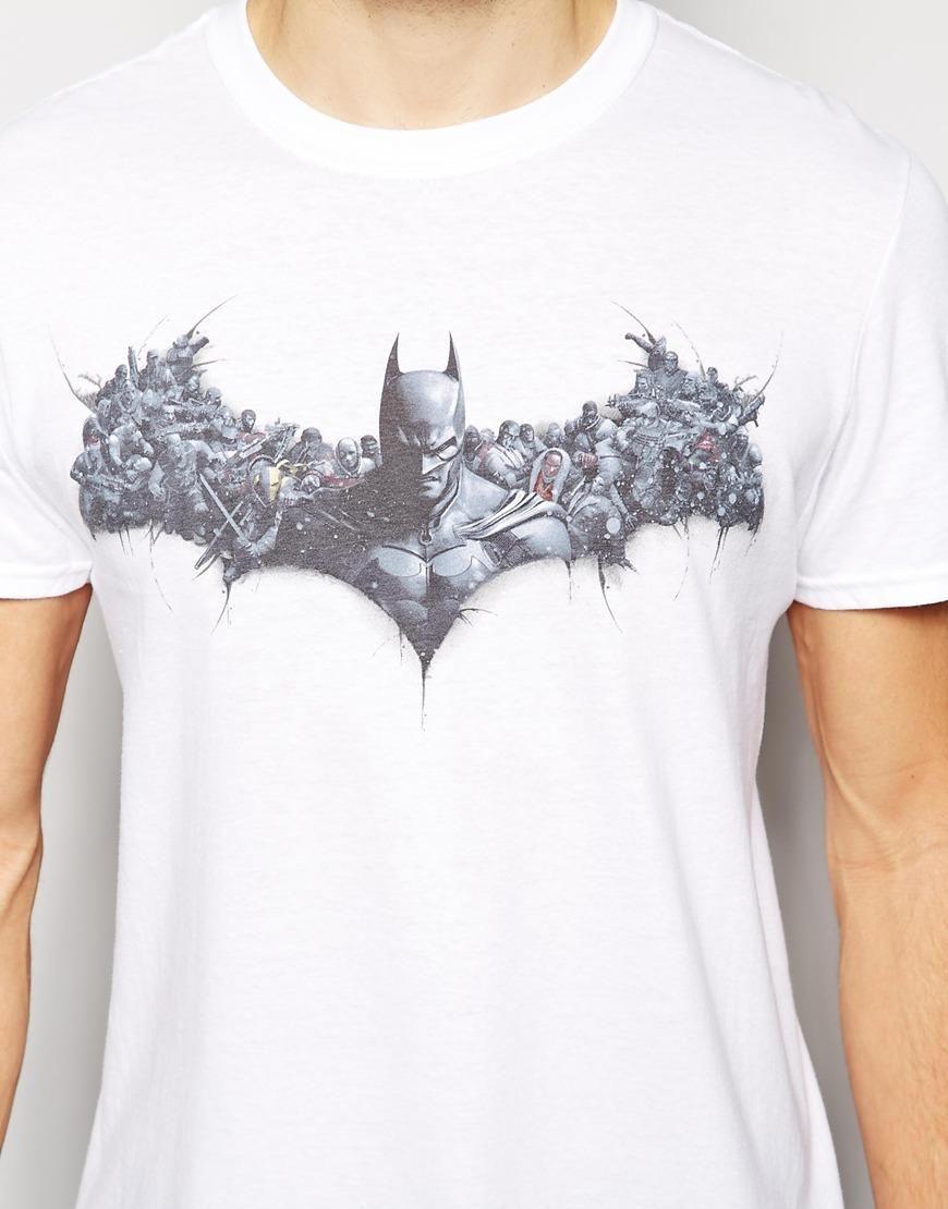 Joystick Junkies   Joystick Junkies T-Shirt With Batman Print at ASOS