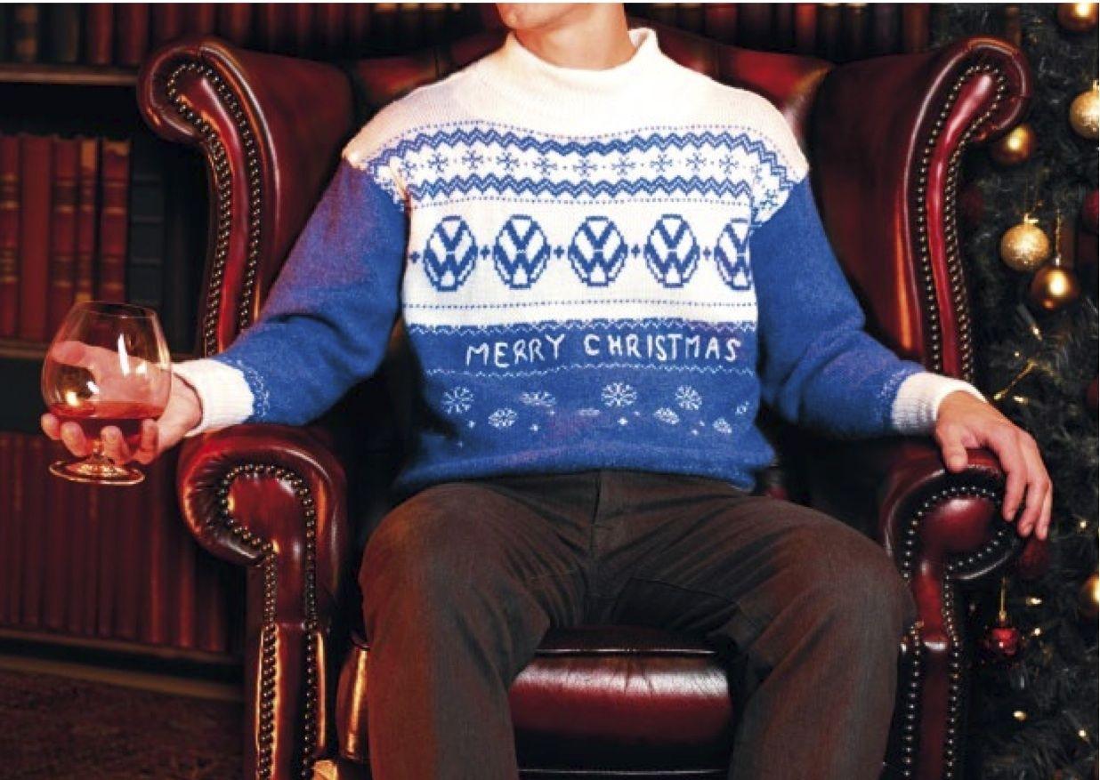 Volkswagen Christmas Sweater | Drive Me Wild | Pinterest ...