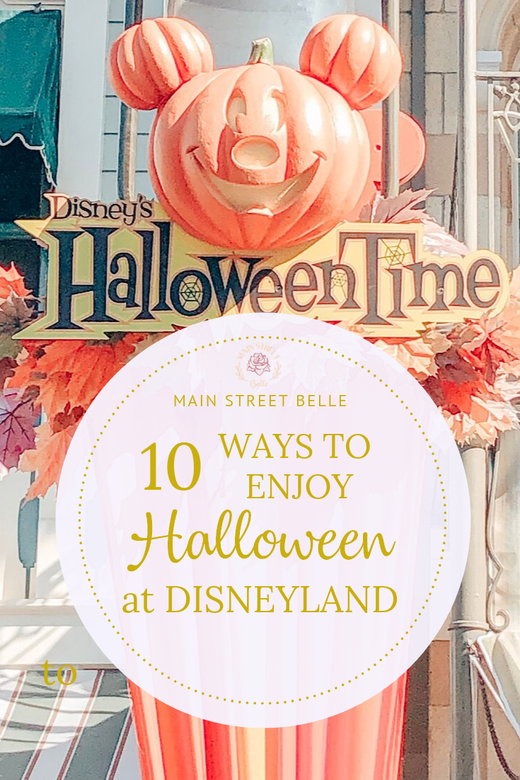 10 Ways to Enjoy Halloween at Disneyland #disneylandfood