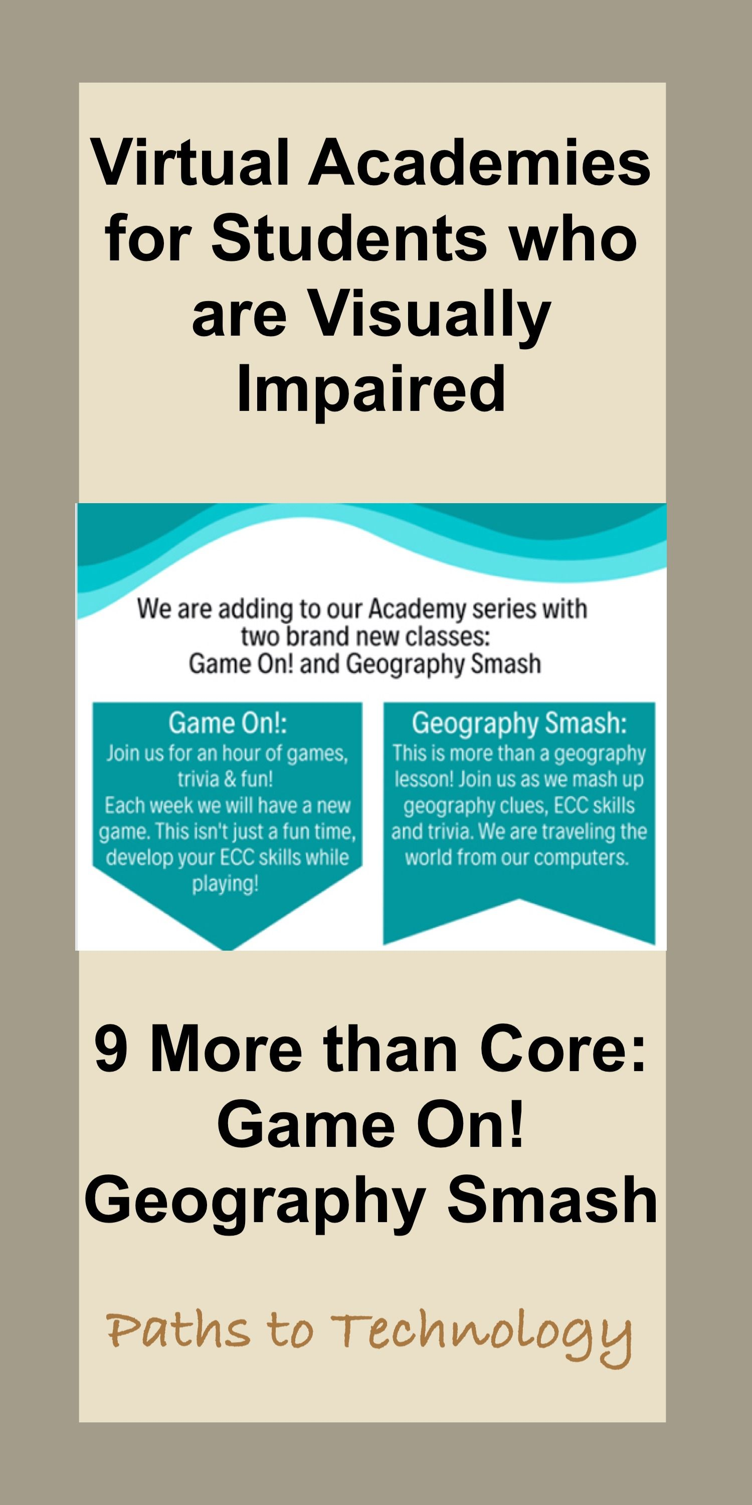 9 More Than Core Virtual Academies Game On And Geography Smash Virtual Academy Living Skills Core Curriculum