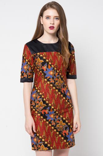 Contoh Baju Batik 336 508 Dress Batik