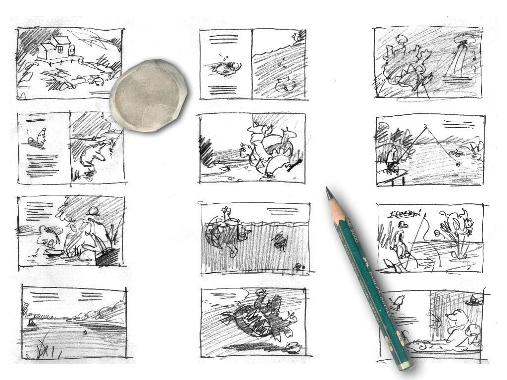 How To Make A Storyboard For A Children S Book