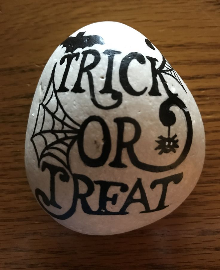 Photo of Halloween Rock Painting Idea For Kids · The Inspiration Edit