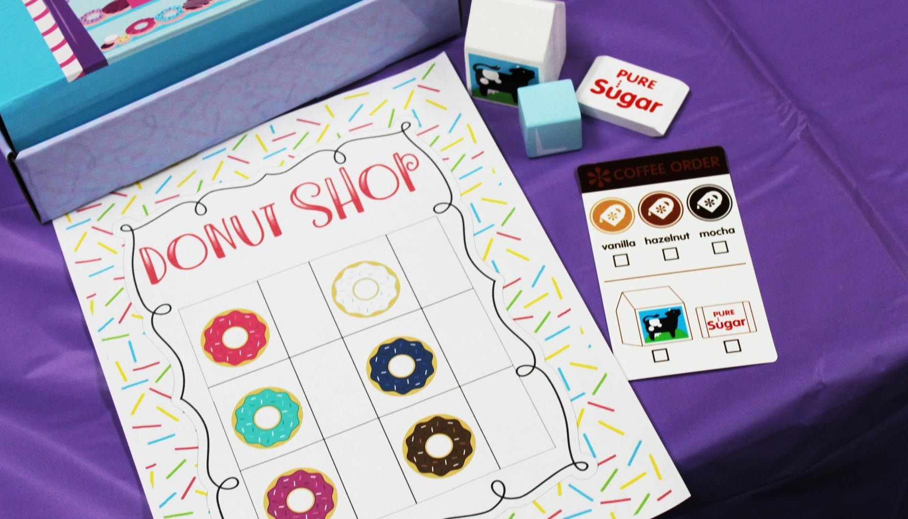 Turn Your Classroom Into A Donut Shop, With This Fun