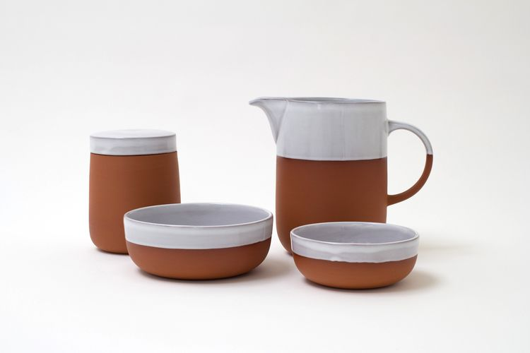 terracotta small bowl bye sue pryke.