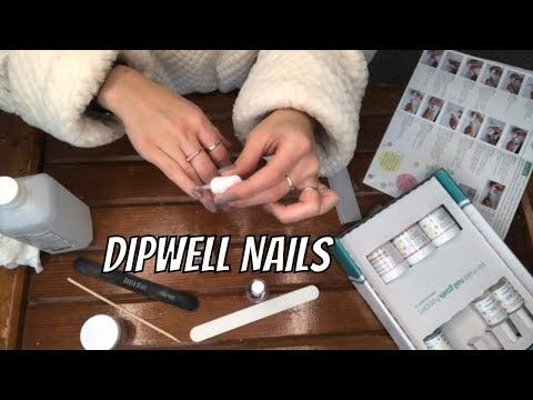 DIY DIP POWDER NAILS USING DIPWELL KIT