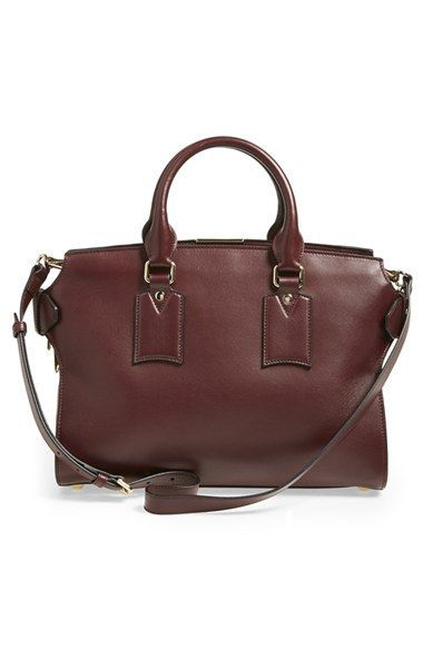 Burberry Medium Clifton Leather Satchel Nordstrom