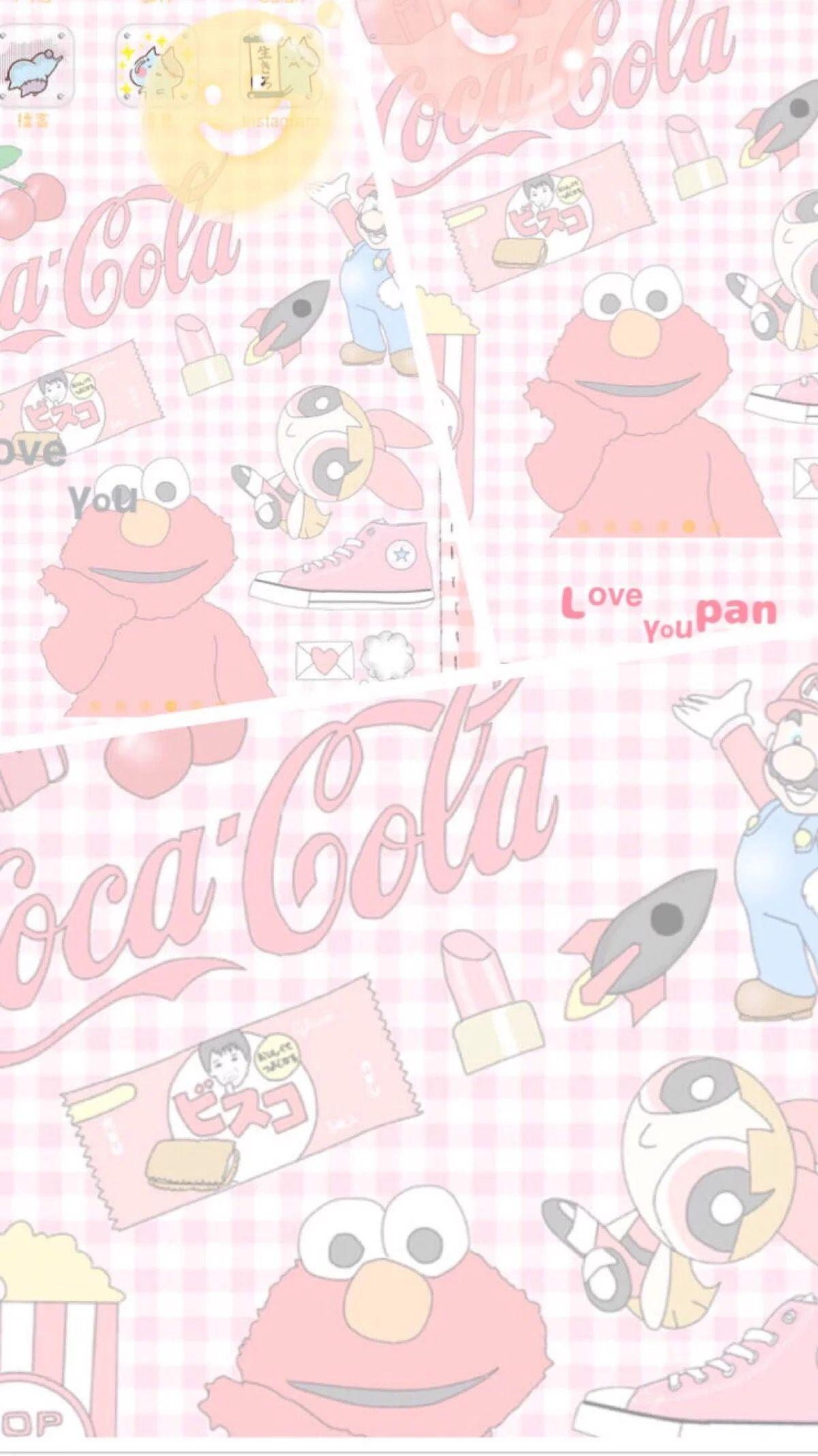 귀여운 おしゃれまとめの人気アイデア Pinterest Wansaiii エルモ ロゴ 壁紙 かわいいスケッチ