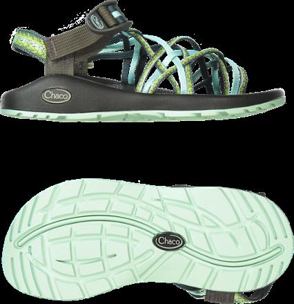 e1371609afcf Chaco Women s ZX 3 Classic Sandals Festoon Blue 11