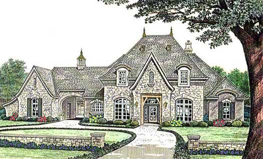 17 Best 1000 images about CottageFrench Country House plans on
