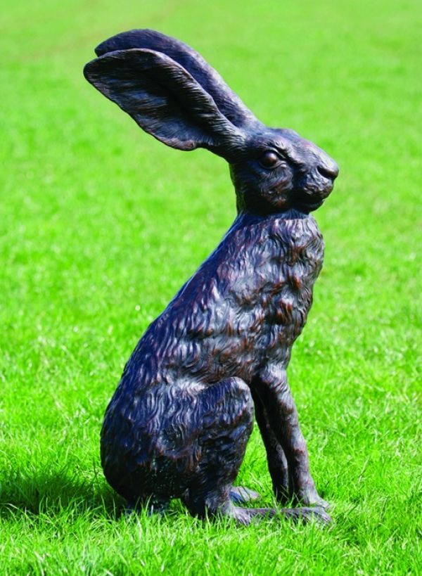 Bronze #sculpture by #sculptor David Cemmick titled: \'Big Big Ears ...