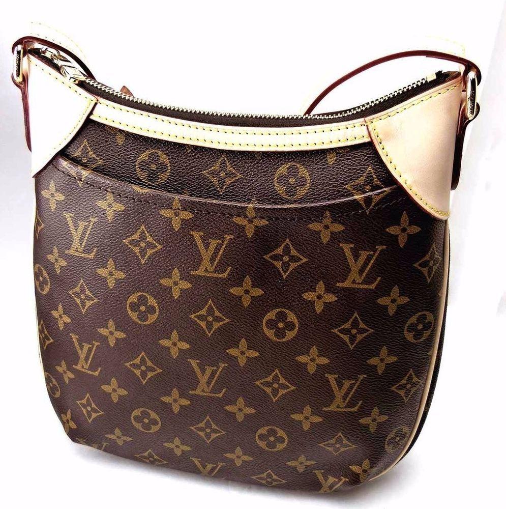 Authentic Pre Owned Louis Vuitton Odeon Pm Monogram Crossbody M56390 Handbag