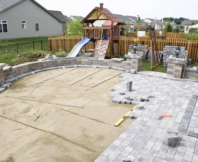 Patio And Deck Installation Landscape Contractors For Glen Ellyn And Wheaton Area Building A Patio Outdoor Patio Set Patio Pavers Design
