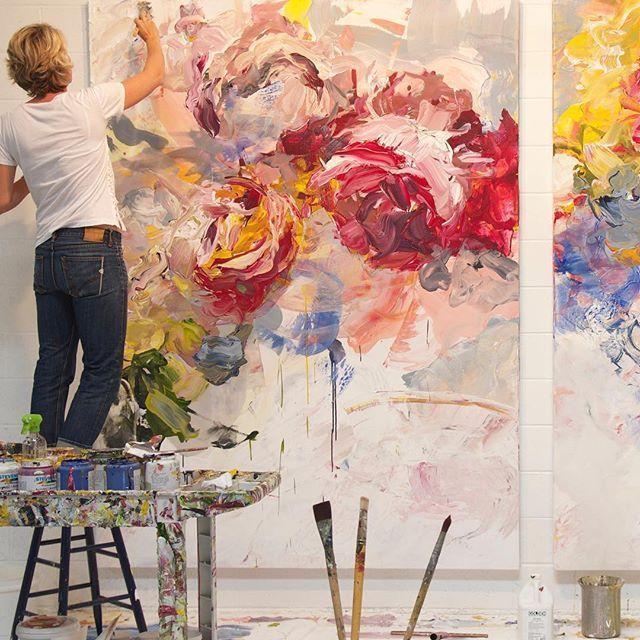 Bobbie Burgers Paintings of Peonies - Bing images