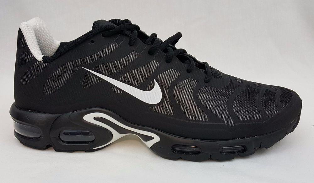 2b51de2b79 ... Nike Air Max Plus Hyperfuse Tn Tuned 1 Mens Black Trainers Size 12.5  483553 020 ...