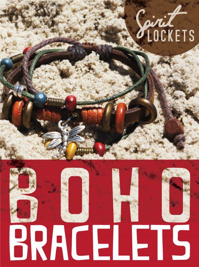 #Boho Bracelets are the Perfect #Beach accessory!