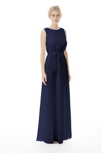 Joanna August Tina Long (Lace) Bridesmaid Dress   Weddington Way