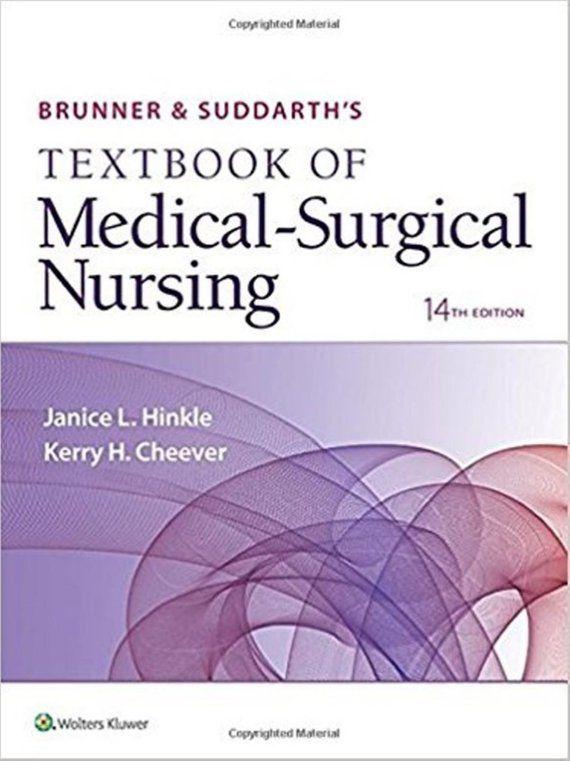 Brunner Suddarths Textbook Of Medical Surgical Nursing 14th