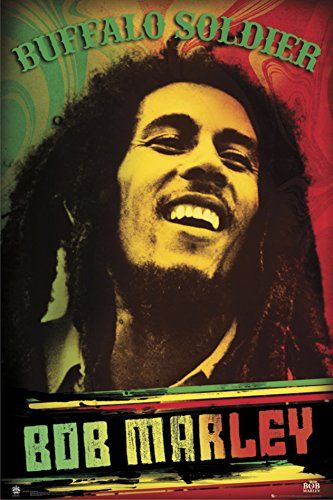 Bob MarleyBuffalo Soldier Poster 24 x 36in >>> You can get