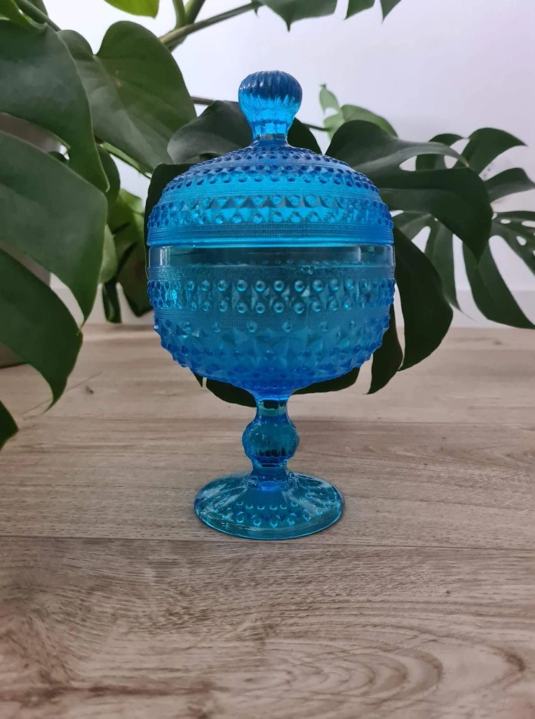 Licytacja Bomboniera Cukiernica Drost Szklo Zabkowice Poznan Allegro Lokalnie Decorative Jars Design Decor