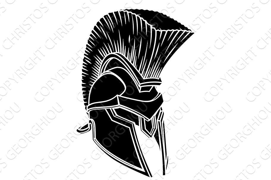 The Gladiator  Spartan with Mohawk