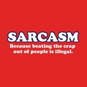 Sarcasm Beating DECAL