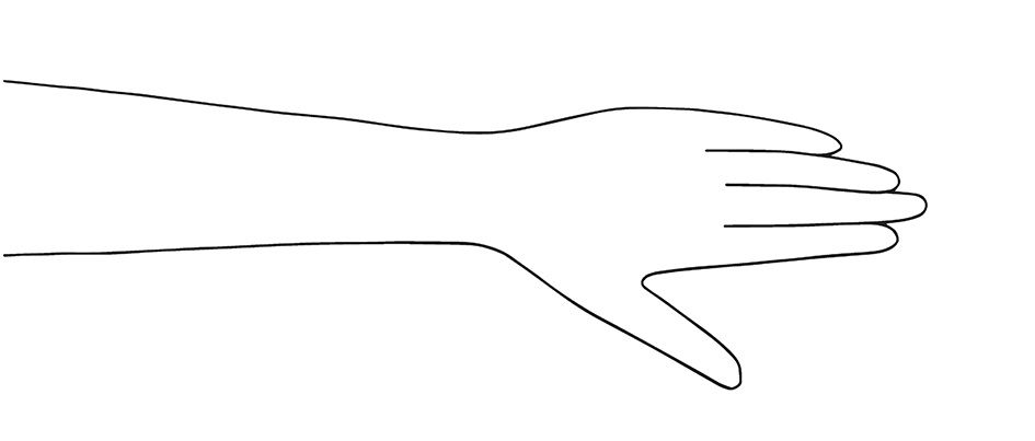 photo relating to Hand Outline Printable titled For the appreciate of HENNA! GB Commitment Information Fingers