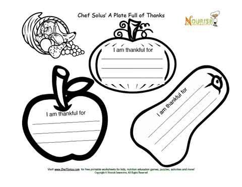 Fun Thanksgiving holiday coloring activity for kids- I am thankful for is free printable coloring page and cut and paste Thanksgiving activity for kids. Cute seasonal Thanksgiving veggies have space for kids to write in the things they are thankful for, then have kids color in the page, and cut out the veggies and glue on a cut out of Thanksgiving plate. Parents or teachers please supervise the cut and paste activity and children will have a nice Thanksgiving themed coloring page to share…