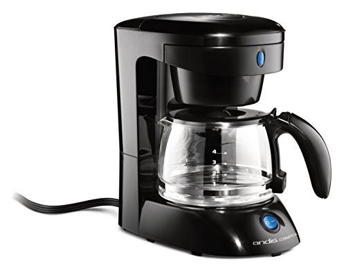 Andis 4 Cup Coffeemaker With Auto Shut Off Black 69050 4 Cup Coffee Maker Modern Coffee Makers Best Coffee Maker