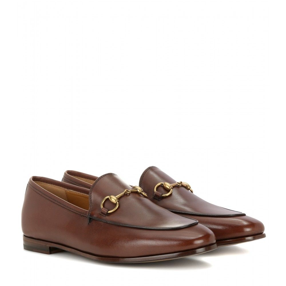 Loafers Aus Leder ∇ Gucci : mytheresa