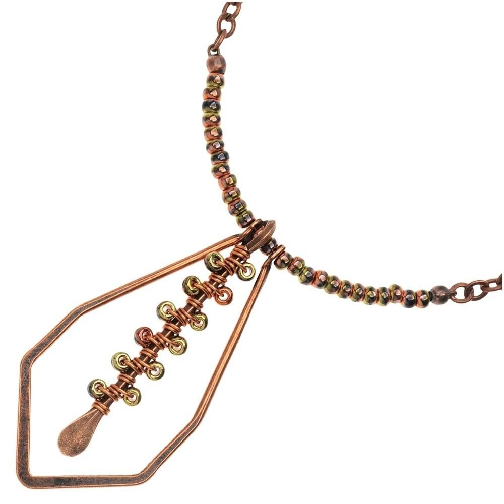 Trichrome Necklace - Beading Projects & Tutorials - Beading ...