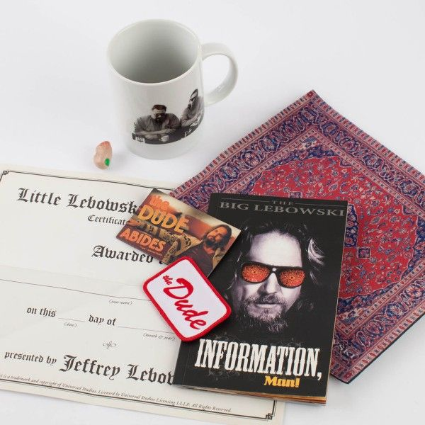 The Big Lebowski Kit Complete With Rug Mouse Pad That Will Tie Room Together
