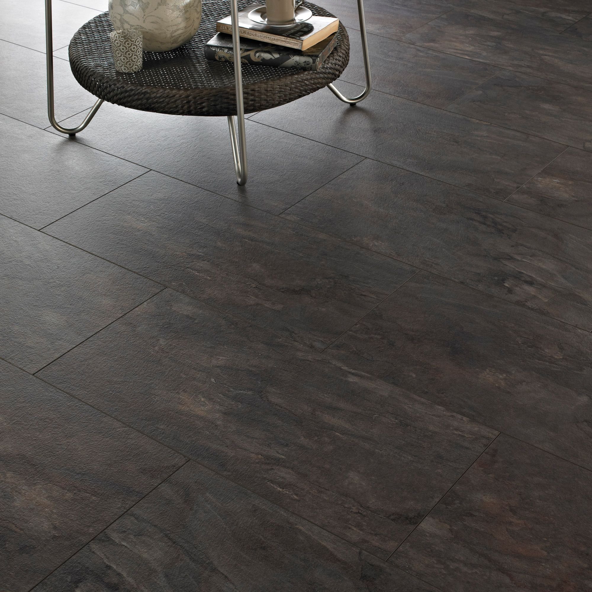 Intermezzo sicilian slate tile effect laminate flooring 205 m pack intermezzo grey slate effect laminate flooring 205 m pack departments diy at bq flooring tileslaminate dailygadgetfo Image collections