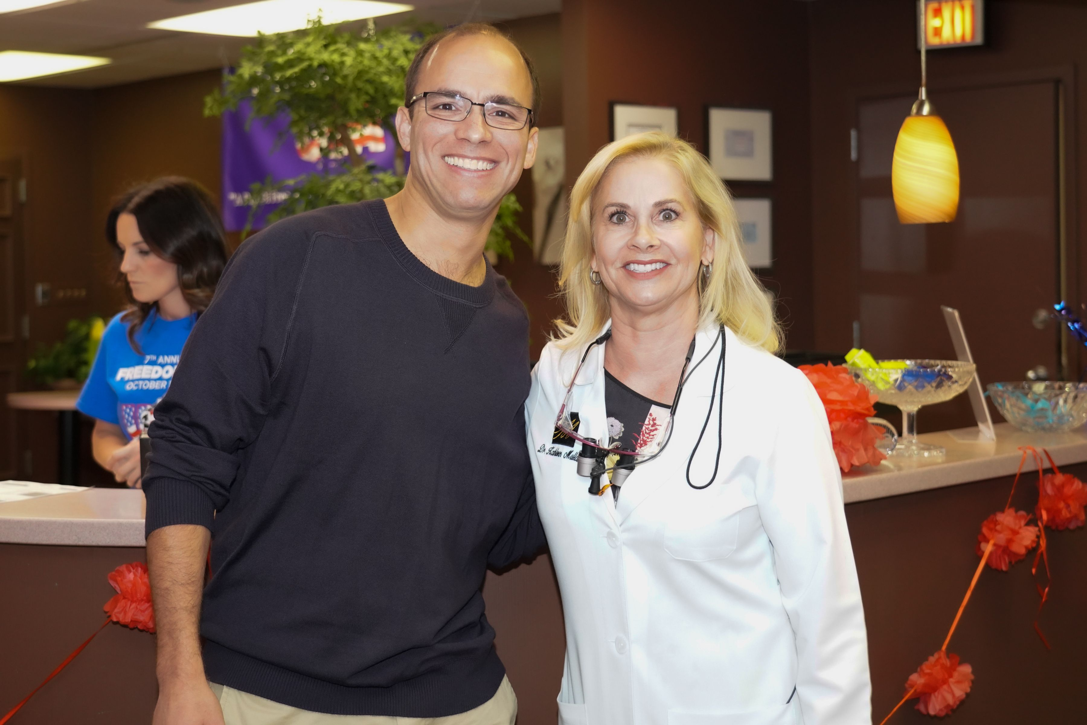 Dr Mullaney And Mayor Justin Wilson Free Dental Care Dentist Dental Cosmetics