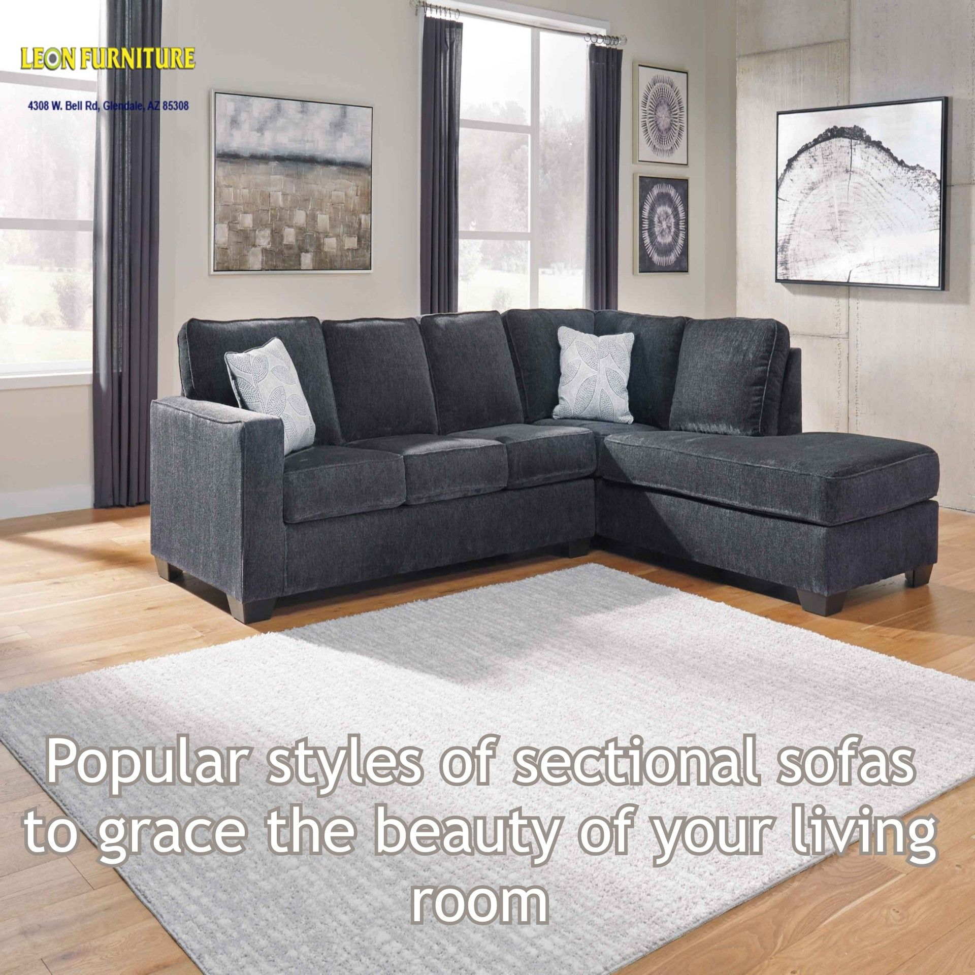Popular Styles Of Sectional Sofas To Grace The Beauty Of Your
